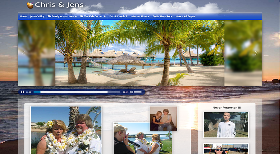 Chris and Jens Website